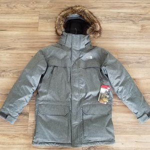 NEW North Face Boys Large McMurdo Parka Jacket NWT